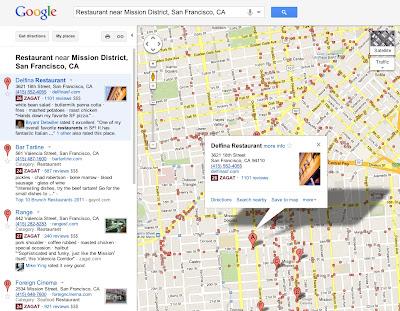 Лучшие места в Google+