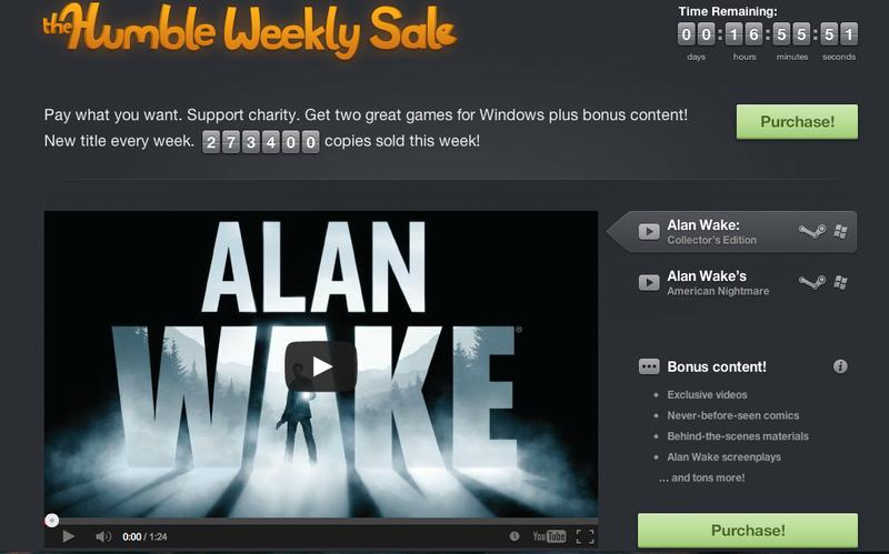 Любой каприз за ваши деньги или Humble Bundle от Remedy Entertainment: успей купить Alan Wake