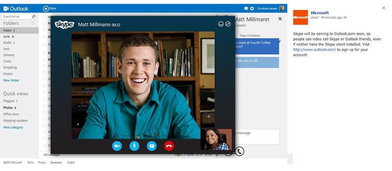 Майкрософт запускает Outlook.com