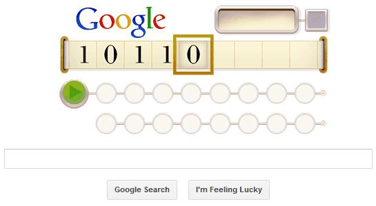 Машина Тьюринга на сайте Гугла