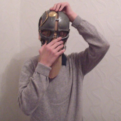Маска Корво, персонажа из игры Dishonored, напечатана на 3д принтере и впервые выставлена на краудфандинг. История создания проекта