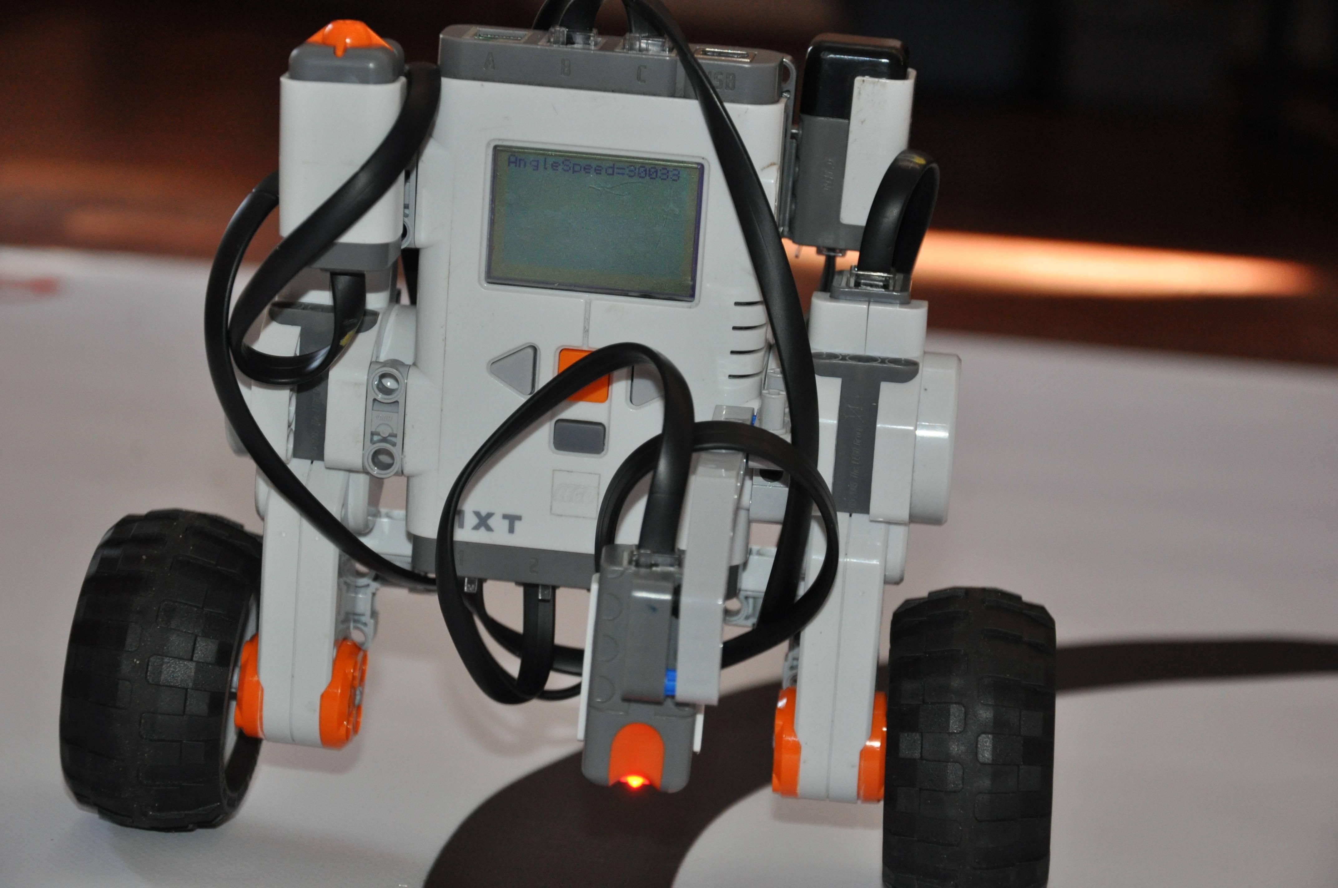 Математическая модель Lego Segway