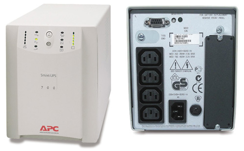 Мелкий ремонт и калибровка APC SmartUPS 700