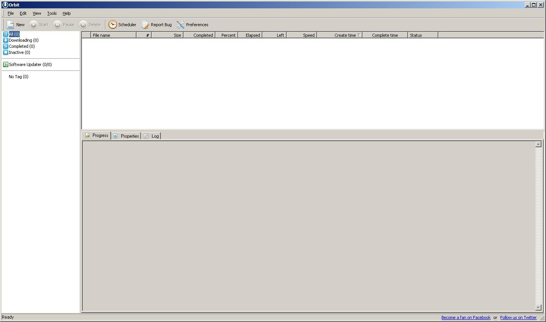 Менеджер загрузок Orbit Downloader используется для DDoS атак