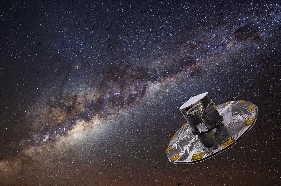 Миллиард пикселей для миллиарда звезд