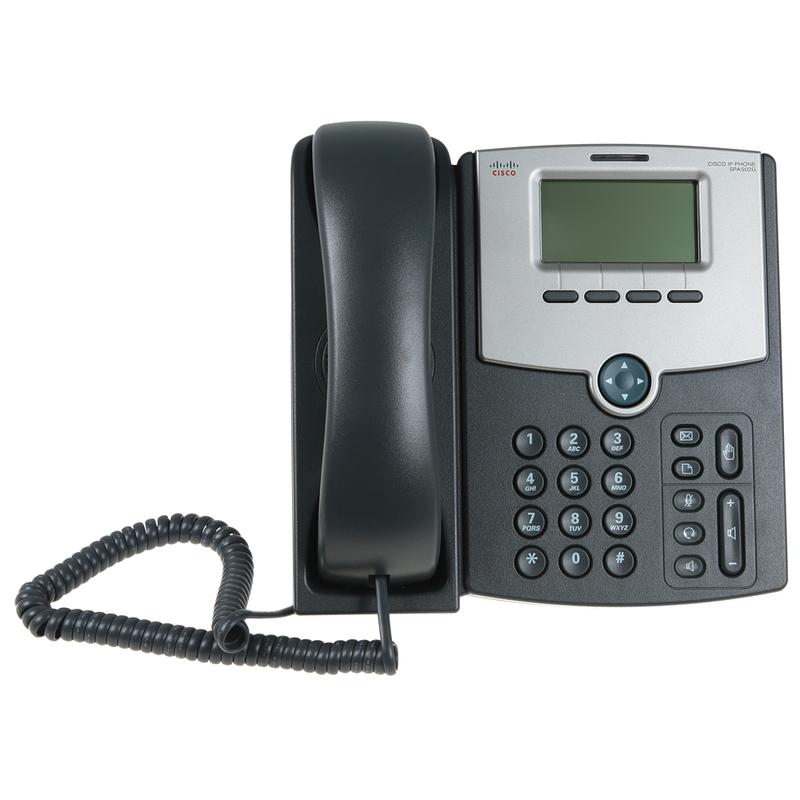 Мини обзор IP телефона Cisco SPA502G