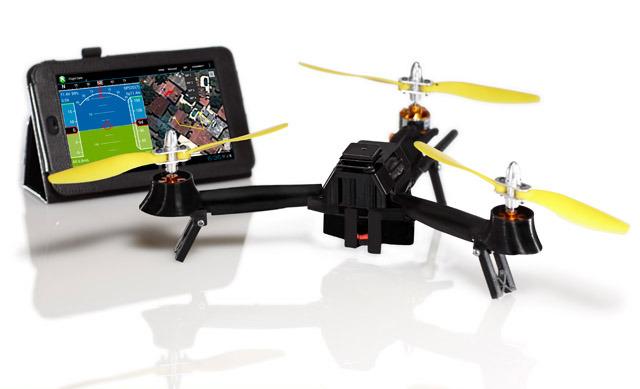 Миниатюрный трикоптер с HD 1080 камерой на Kickstarter насобирал почти 1 млн долларов вместо 35 тысяч