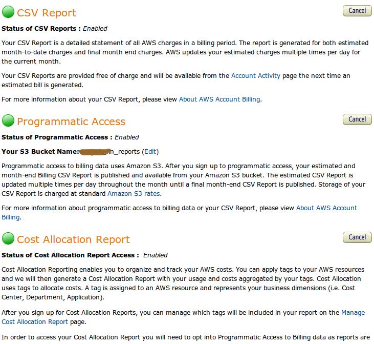 Многопользовательский биллинг в Amazon Web Sevices