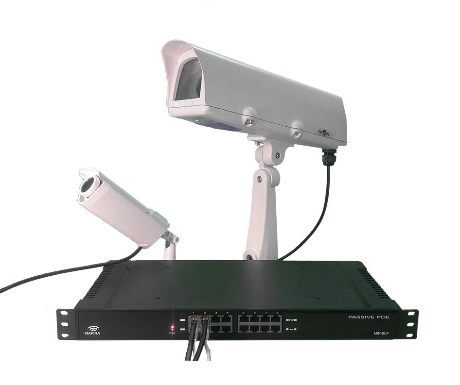 Многопортовый адаптер РоЕ MIP 8LP с интегрированной грозозащитой