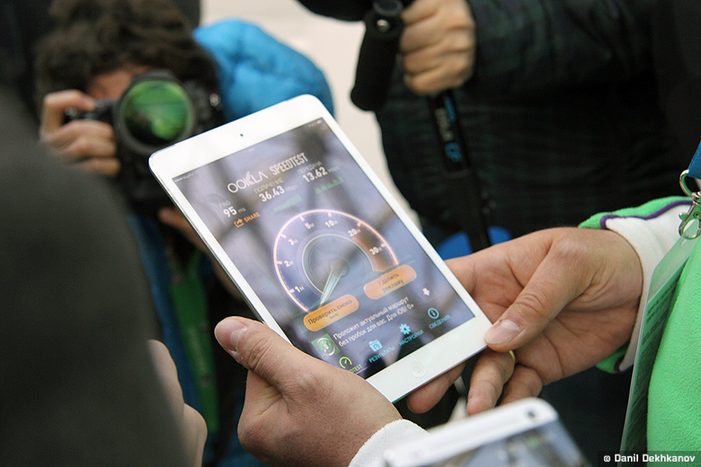Мобильная связь в Сочи: фотоотчёт