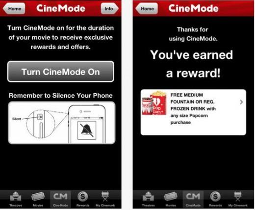Мобильное приложение награждает пользователей за то, что они не используют телефон во время просмотра киноленты