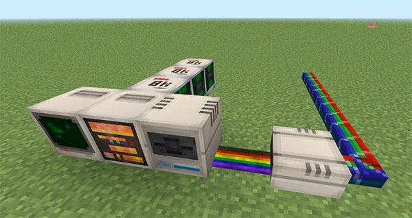 Мод для Minecraft, добавляющий микропроцессор