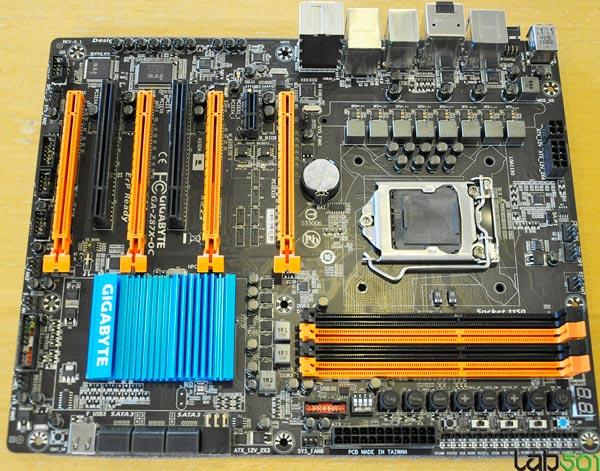 Плата Gigabyte GA-Z87X-OC оснащена процессорным гнездом LGA 1150