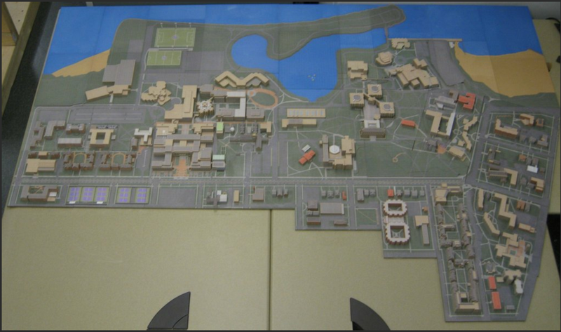 Модель института, созданную в Minecraft, напечатали на 3D принтере