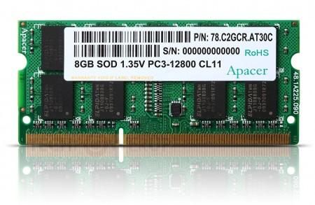 Модули памяти Apacer DDR3-1600