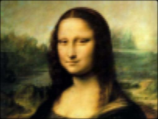 Мона Лиза на чистом CSS
