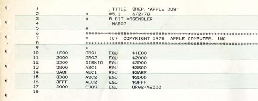 Музей компьютерной истории опубликовал исходники дисковой ОС компьютера Apple II