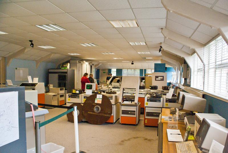 Музей компьютеров в Bletchley Park