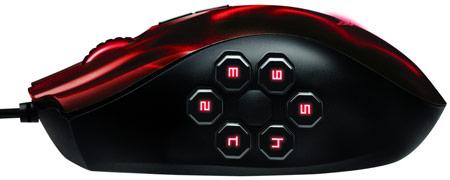 Мышь Razer Naga Hex Wraith Red Edition унаследовала у мыши Razer Naga Hex все, кроме цвета