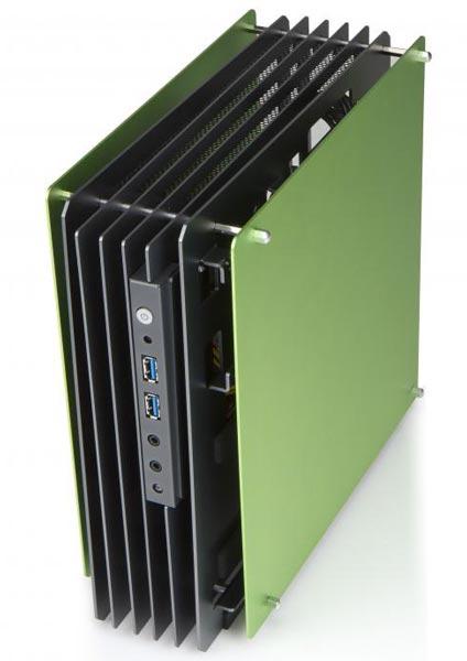 На CES 2013 замечен необычный корпус In Win типоразмера mini-ITX