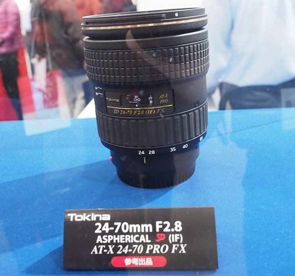Описание объектива Tokina AT-X PRO SD 24-70mm F/2.8 SD (IF) FX пока отсутствует на сайте производителя