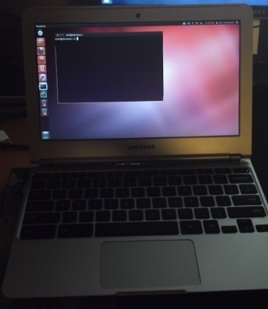 На Chromebook от Samsung можно запустить Ubuntu