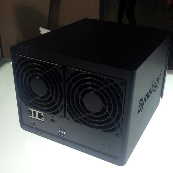 На Computex 2014 замечены сетевые накопители Synology DiskStation DS415play и Synology DiskStation DS215air
