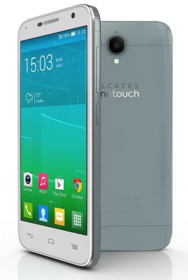 Модель Alcatel OneTouch Idol 2 имеет пятидюймовый экран типа IPS