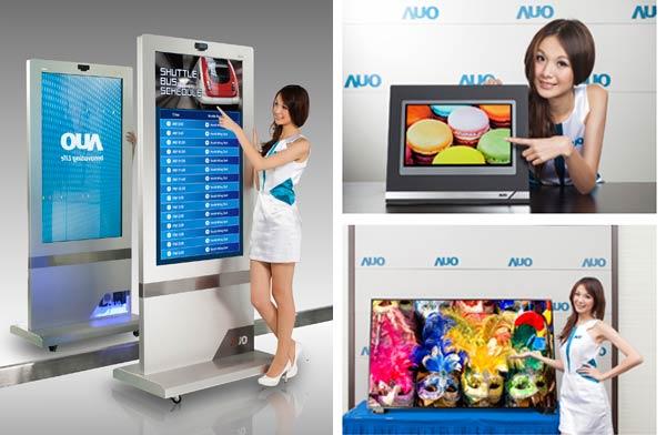 Среди новинок AOU следует отметить 27-дюймовую панель для мониторов разрешением 2560 x 1440 пикселей