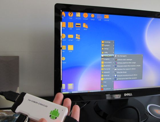 На мини компьютере МК802 проверили работу Ubuntu и Puppy Linux