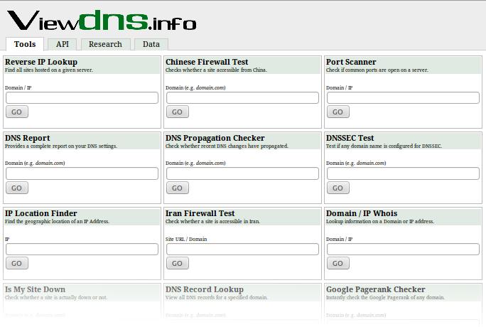 Набор полезных инструментов для работы с DNS