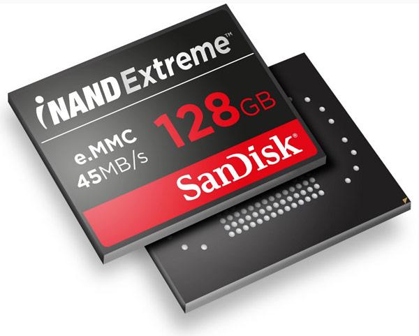 Запланирован выпуск SSD iNAND Extreme объемом до 128 ГБ