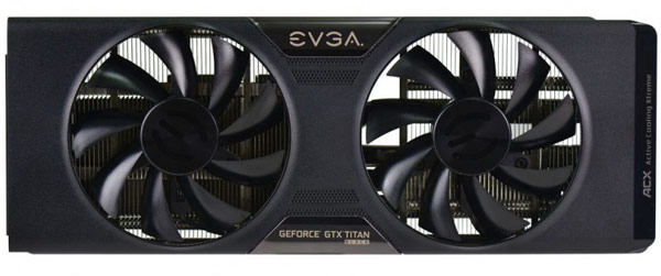 Начались продажи кулеров EVGA ACX для 3D-карт GeForce GTX Titan Black