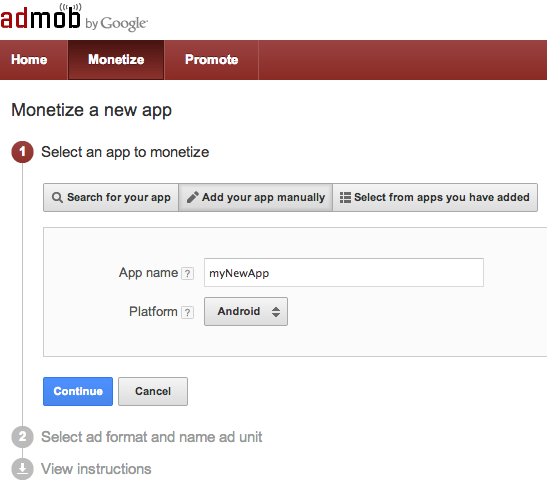 Начало работы с Google Mobile Ads SDK в Android