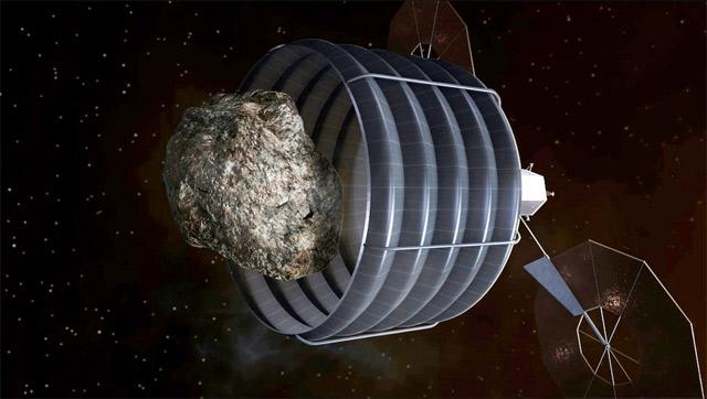 НАСА определило три подходящих астероида для захвата
