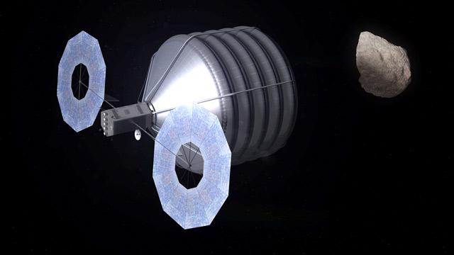 НАСА тоже хочет захватывать астероиды