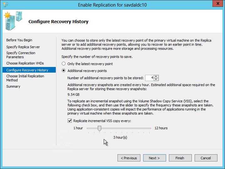 Настройка Hyper V Replica в Windows Server 2012