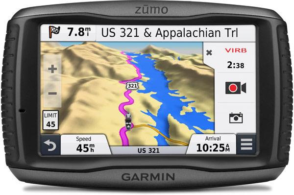 По степени защиты навигатор Garmin zūmo 590LM соответствует рейтингу IPX7