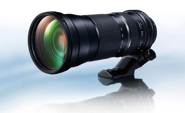 Телеобъектив Tamron SP 150–600 мм F/5–6,3 Di VC USD (A011) оснащен стабилизатором изображения и ультразвуковым приводом автоматической фокусировки