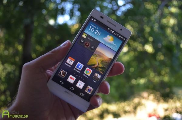 Смартфон Huawei Ascend P7 будет представлен менее чем через месяц