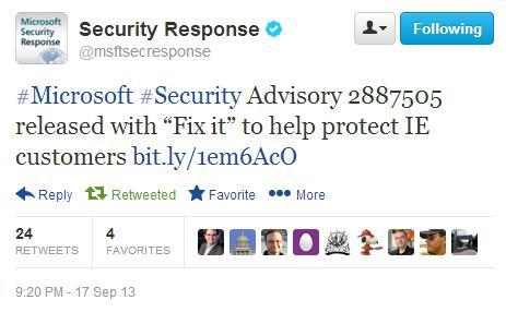 Новая cross  Internet Explorer уязвимость эксплуатируется in the wild