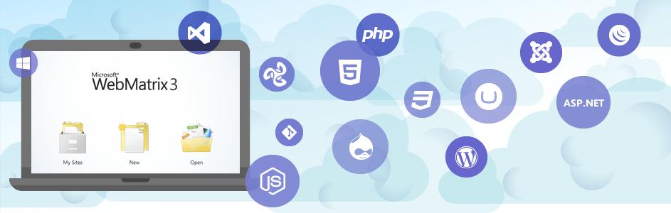 Новая версия WebMatrix 3: интеграция с облаком, TFS, Git, удаленный доступ к сайтам