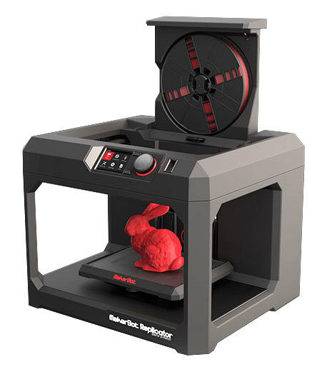 Новые 3D принтеры MakerBot