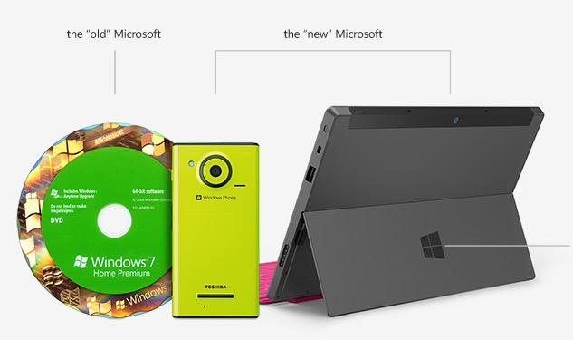 Новый брендинг для Microsoft