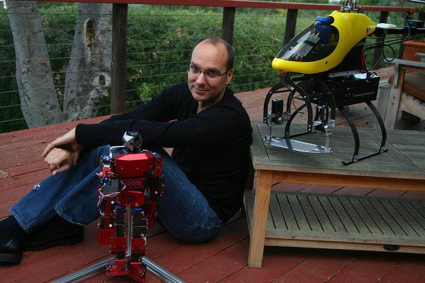 Новый фронтир Google и Энди Рубина: роботы