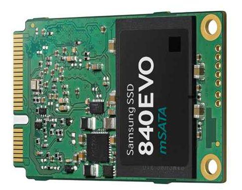 Новый mSATA SSD от Samsung на 1ТБ весом в 8,5 граммов появится в продаже в этом месяце