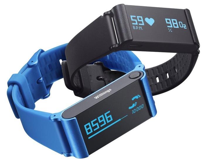 Новый трекер Withings Pulse O2 контролирует уровень кислорода в крови