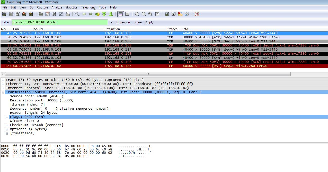 Новый вид DDoS атаки: найден баг протокола ТСР в Windows