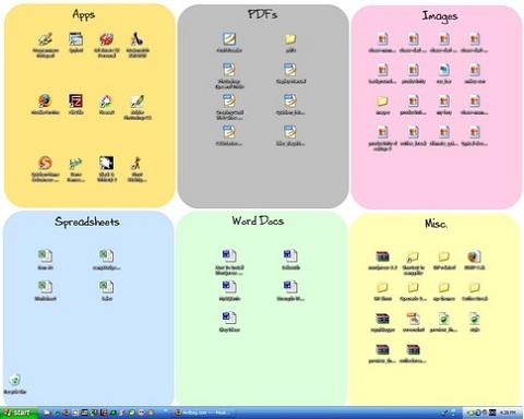 Об организации рабочего стола, работ и документов