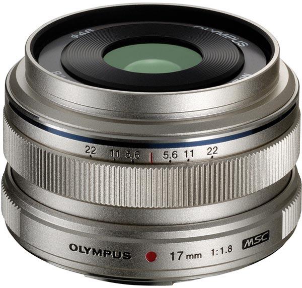 Объектив Olympus M.Zuiko Digital 17mm f1.8 системы Micro Four Thirds оценен в $500